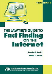 Lawyer's Guide to Fact Finding on the Internet | American Bar Association